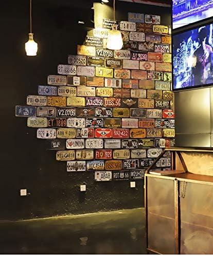 Nevada Nummernschild Garage f/ür Zuhause Fahrzeug-Wanddekoration Auto-Requisite 15 x 30 cm Welcome to Las Vegas Auto Bar Retro-Vintage