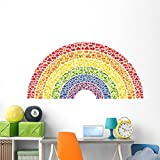 Wallmonkeys Fruit and Vegetable Rainbow Wall Decal Peel and Stick Business Graphics (72 in W x 48 in H) WM203123
