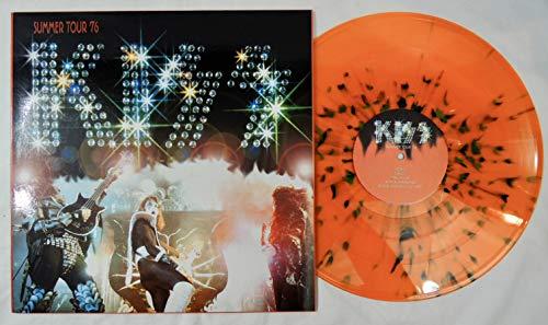 Kiss Summer Tour '76 Colored Orange Ltd Ed Vinyl LP 2003 Live New Jersey