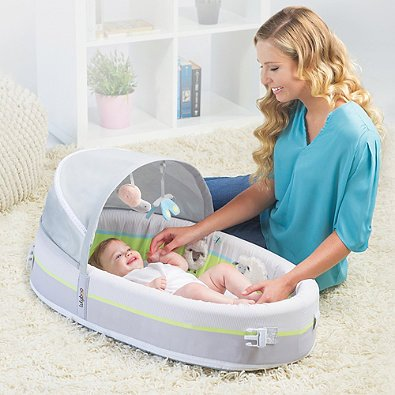 Lulyboo Baby Lounge Premium Travel Bed