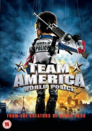 Reino Unido Team America DVD