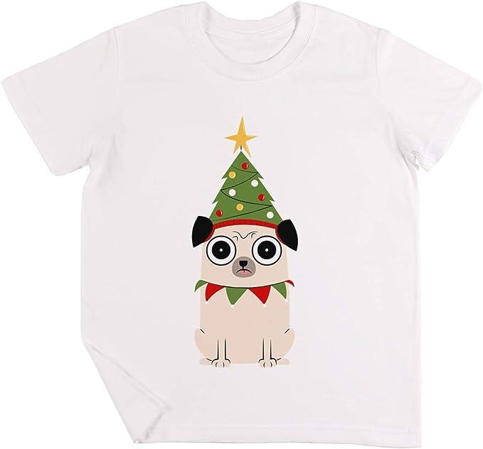 Sus Navidad para Barros amasados Motivo Niños Chicos Chicas Unisexo Camiseta Blanco: Amazon.es: Ropa y accesorios