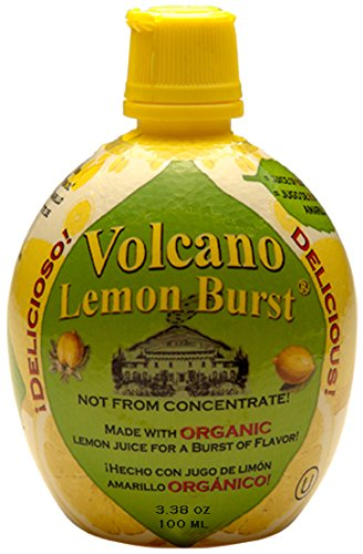 Volcano Lemon Burst, 3.38oz (Pack of 6) by Italian Volcano