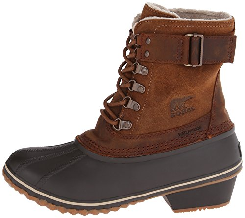 Sorel Women's Winter Fancy Lace II Boot,Elk/Grizzly Bear,9 M US by SOREL (Image #5)