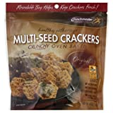 Crunchmaster Cracker, Original, Multiseed, 4.5-Ounce (Pack of 12)