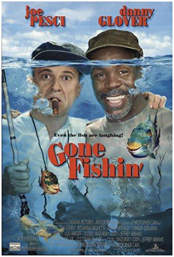 "Private: Gone Fishin' 1997 Authentic 27"" x 40"" Original Movie Poster Rolled Joe Pesci Crime U.S. One Sheet"