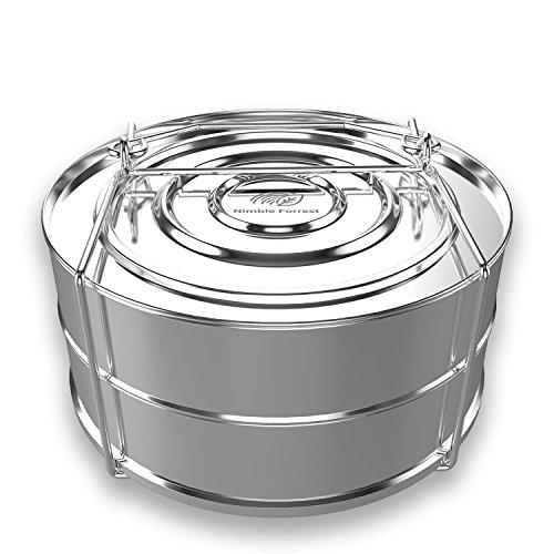 Premium Stackable Stainless Steel Pressure Cooker Steamer In