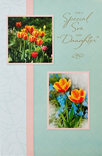 For A Special Son and Daughter-in-Law - Happy Easter Greeting Card -