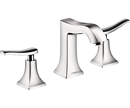 Hansgrohe 31073001 Metris C Widespread Faucet, Chrome - Touch On ...