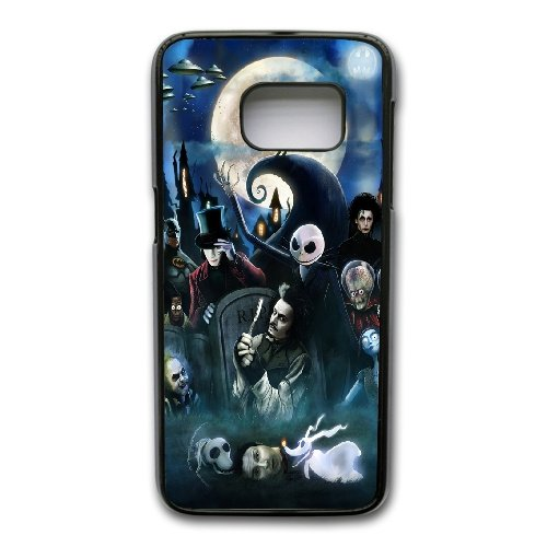 tim-burton-movie-characters-phone-cover-case-for-samsung-galaxy-s7-edge-cell-phone-black-cgd202172