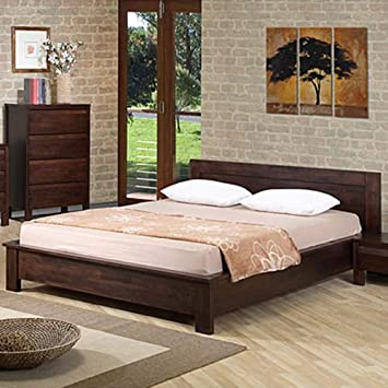 alsa queen platform bed this platform bed frame is perfect for a bedroom set in - Low Queen Bed Frame