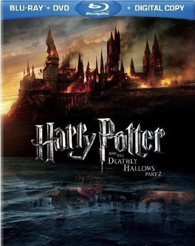 Harry Potter and the Deathly Hallows, Part 2 (4-Disc Blu-ray/DVD Combo UltraViolet...