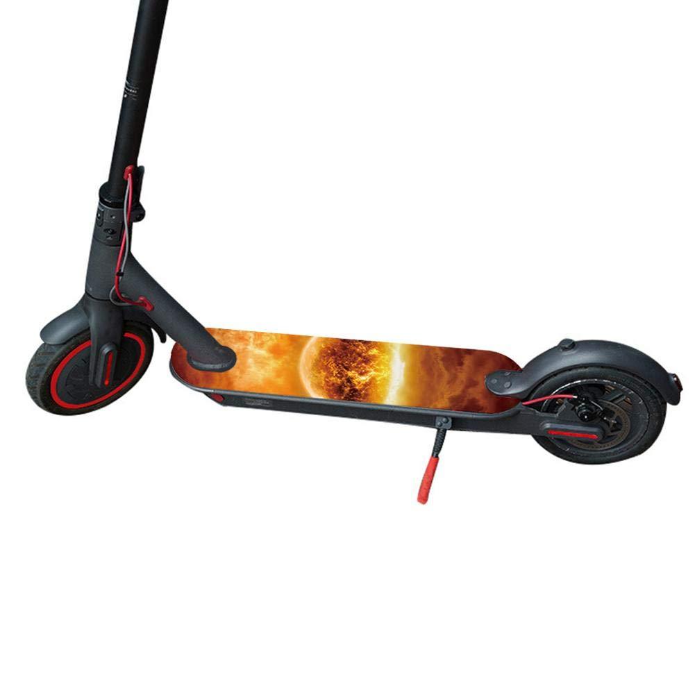 Wasserdichtes Pedal Sandpapier Aufkleber Maliyaw Personality Pedal Matte Mat Aufkleber f/ür Xiaomi Mijia M365 Scooter Zubeh/ör