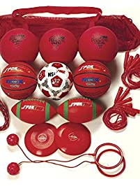 Sportime Recess Pack, Red, Grade 4, Set of 20 - 1281822