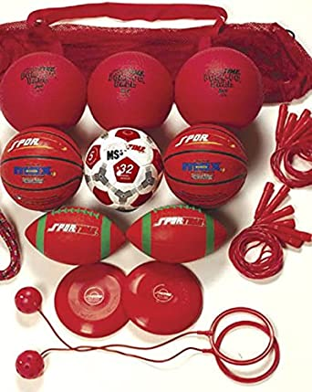 Set of 20 Sportime Recess Pack Grade 4 Red