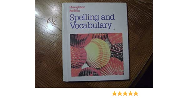 Houghton Mifflin, Spelling And Vocabulary 4th Grade, 1990 ISBN ...