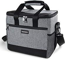TAOCOCO Kühltasche 15L/35L Picknicktasche faltbar Eistasche Mittagessen Isoliertasche Lunchtasche für Büro Camping, Beach...