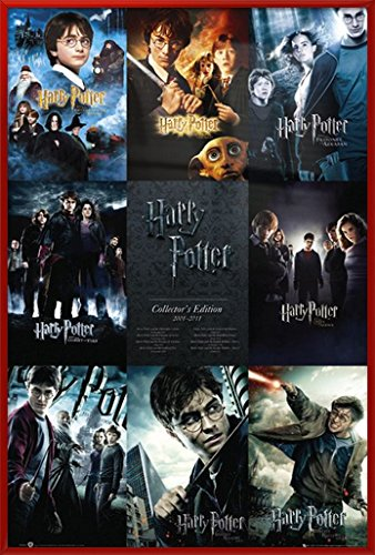 Harry Potter 1-7 - Framed Movie Poster / Print