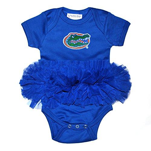 Florida Gators Newborn Infant Tutu Creeper Bodysuit (6 Months)
