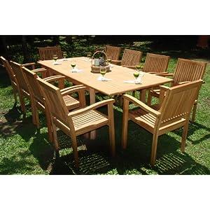 51GtMrTP%2BAL._SS300_ Teak Dining Tables & Teak Dining Sets