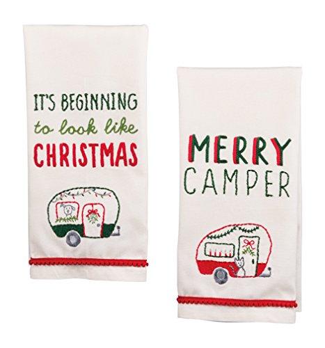 PBK Christmas Embellished Towel Set -