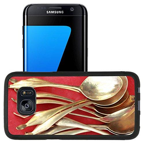 Luxlady Premium Samsung Galaxy S7 Edge Aluminum Backplate
