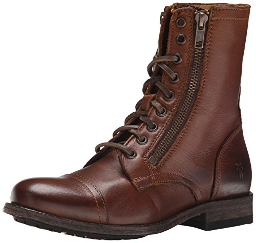 Frye Tyler Double - Botas Militar Mujer marrón (cognac)