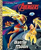 img - for Battle on the Moon (Marvel Avengers) (Little Golden Book) book / textbook / text book