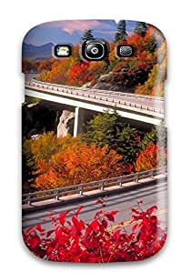 New Premium Flip Case Cover Colourfull Landscape Nature Other Skin Case For Galaxy S3