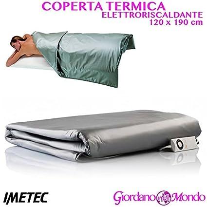 Manta térmica Camilla masaje eléctrica para tratamientos estetici 120 x 190 cm profesional para esteticista