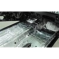 HushMat 697641 Sound and Thermal Insulation Kit (1964-1965 Ford Falcon Sedan Floor)