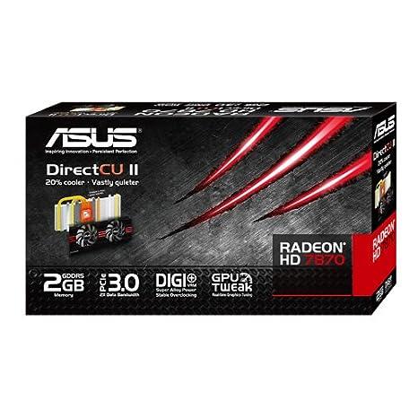 Asus ATI Radeon HD 7870 HD7870-DC2T-2GD5 Driver