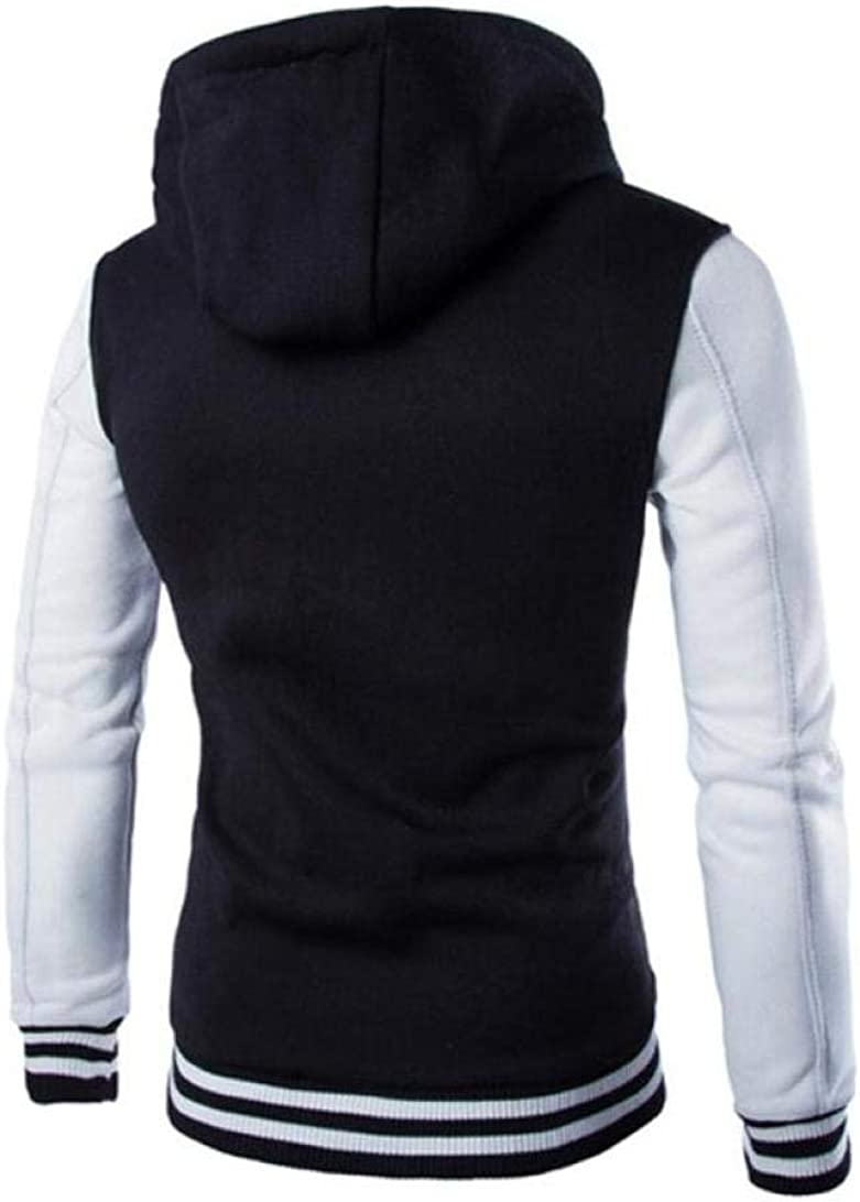 WSPLYSPJY Mens Lightweight Stand Collar Thicken Warm Packable Down Jacket Outcoat