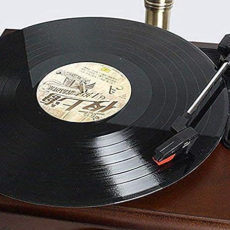 YWAWJ Estilo Retro gramófono Blanco Europeo de la Placa giratoria ...