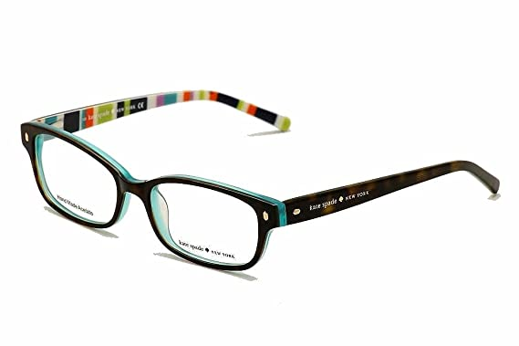 260453a1da Kate Spade Lucyann Eyeglasses-0X77 Tortoise Aqua Striped-49mm