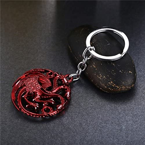 Game of thrones Key Chain A Song of Ice Targaryen House (Red)