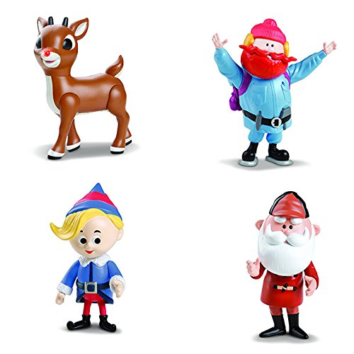 Rudolph the Red-Nosed Reindeer 50th Anniversary Limited Edition Collectible- Set of 4