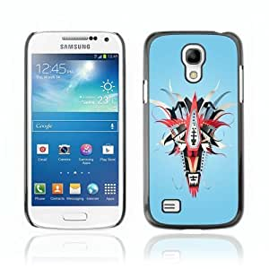 Designer Depo Hard Protection Case for Samsung Galaxy S4 Mini / Abstract Colorful Mask