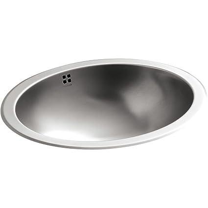 kohler k 2609 su na bachata drop inundermount bathroom sink - Kohler Undermount Bathroom Sinks