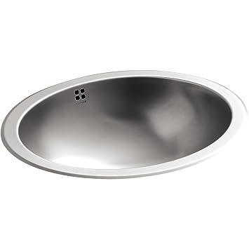 Kohler K 2609 SU NA Bachata Drop In/Undermount Bathroom Sink