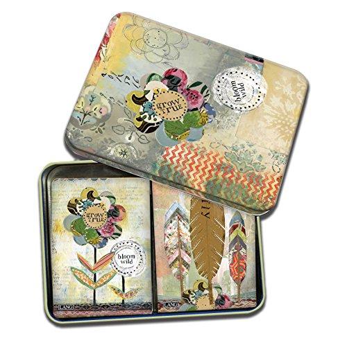 (LANG - Playing Cards - 2 Decks in Decorative Tin -