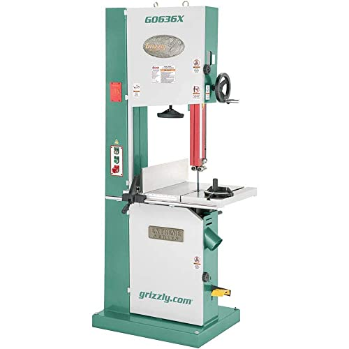 Grizzly Industrial G0636X – 17 5 HP Ultimate Bandsaw