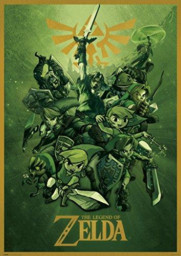(Pyramid America Zelda Links The Legend of Zelda Nintendo Video Game Series Giant Poster 39x55 inch)