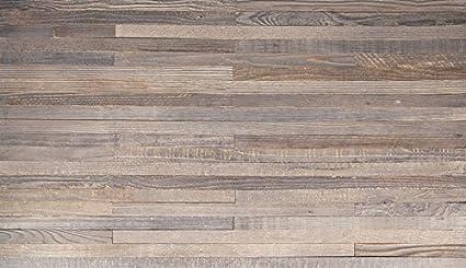 Reclaimed Wood Interior Design Panels Slate Color, 1.5 Inch Wide (20sq. Ft.