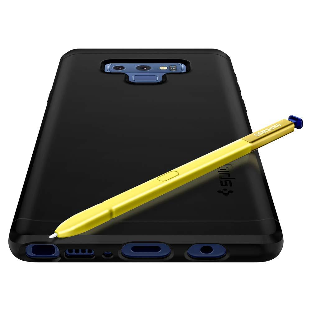 buy popular 39f01 98a8b Samsung Galaxy Note 9 - Spigen Thin Fit 360 & Tempered Glass Case
