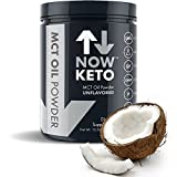 Increase Your Ketosis & Decrease Your Carbohydrates with Now Keto™ Pure MCT Oil Powder from Coconuts. Fast-acting and gut-friendly, our premium PureMCT delivers an essential boost to any serious keto diet. Proven to raise blood ketone levels in t...