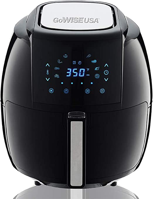 Quarts 8-in 50 Recipes for Your Gowise USA 5.8 1 Electric Air Fryer XL