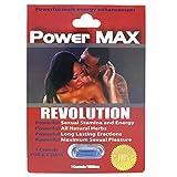 POWER MAX REVOLUTION men Enhancer Penis Enlargement Male SEX PILL stamina deals 40 pill