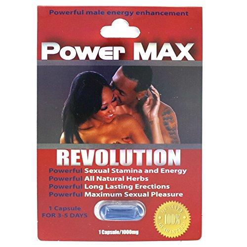 POWER MAX REVOLUTION men Enhancer Penis Enlargement Male SEX PILL stamina deals 40 - Max Orgy