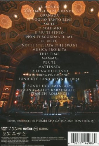 Amazon.com: Il Volo Takes Flight: Live From The Detroit Opera House: Movies & TV